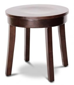 LOW Timber Bar Stool