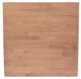Square Timber Table Top
