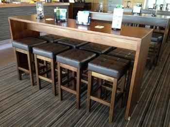 Commercial timber highbar base019 creative furniture design cafe furniture restaurant Timber home office furniture brisbane