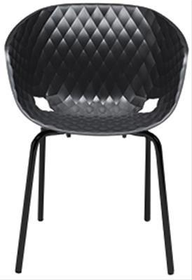 Commercial Cafe Armchair Resin