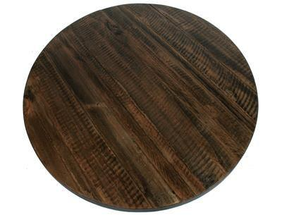 Rustic Timber Look Round
