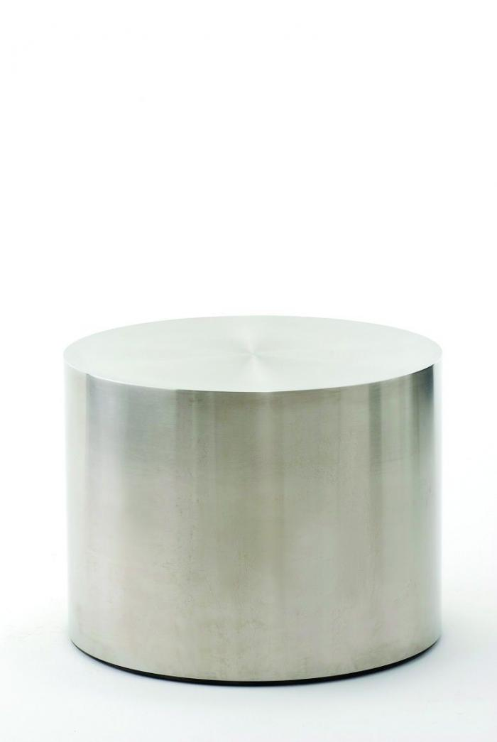 Stainless Steel Drum Table