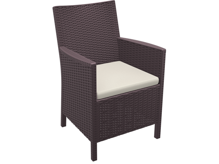 Resin Wicker Tub Chair