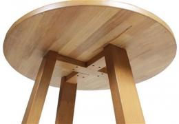 Commercial Hiogh Bar Table Timber