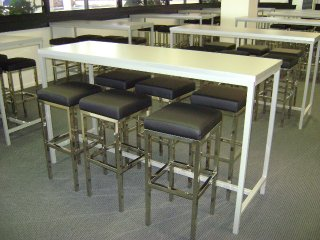 Aluminium Frame Highbar Base022 Bench Bar Creative
