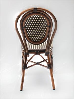 commercial cafe chair wicker out014 creative furniture design