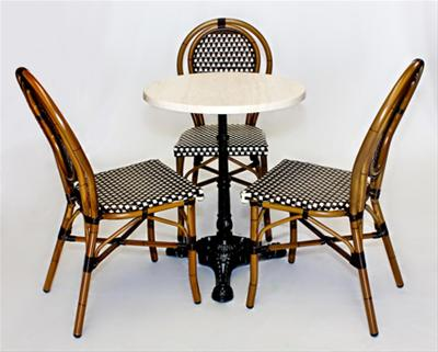 Restaurant Supply Bistro Chairs Restaurant Furniture Supply - Restaurant bistro table and chairs