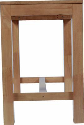 Timber High Bar Table Base021 Bench Bar Creative
