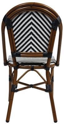 Commercial cafe chair wicker out013 creative furniture for Outdoor furniture mackay
