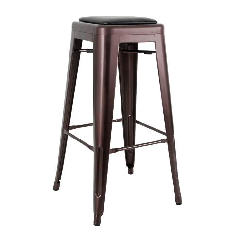 Commercial bar stool metal bar018 creative furniture for Outdoor furniture mackay
