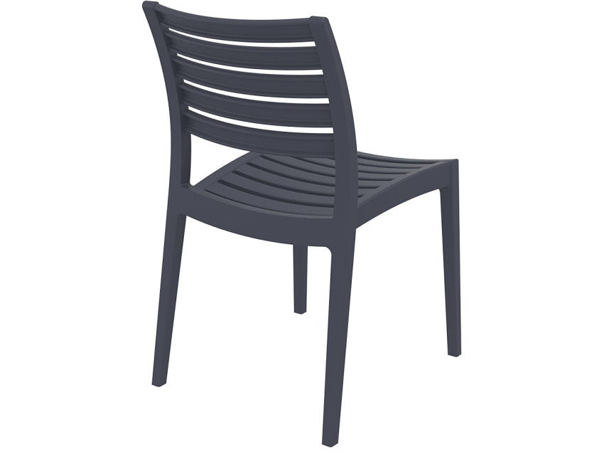 Commercial cafe chair resin out025 creative furniture for Outdoor furniture mackay